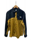 THE NORTH FACE(ザノースフェイス)の古着「Nuptse Shirt」|ブリティッシュカーキ
