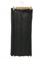 ISSEY MIYAKE(イッセイミヤケ)の古着「マキシスカート」|ブラック
