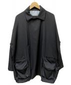 Dulcamara(ドゥルカマラ)の古着「よそいきWモッズショート」|ブラック