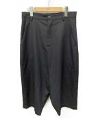 Dulcamara(ドゥルカマラ)の古着「よそいき1タックパンツ」|ブラック