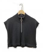 ALLEGE(アレッジ)の古着「Neck warmer」 ブラック