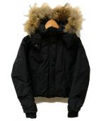 CIAOPANIC(チャオパニック)の古着「ショートダウンジャケット」|ブラック