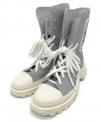adidas(アディダス)の古着「RS DETROIT HIGH」 ライトグレー