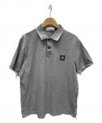 STONE ISLAND()の古着「ポロシャツ」 グレー