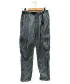GRAMICCI()の古着「ナイロンカーゴパンツ」|グレー