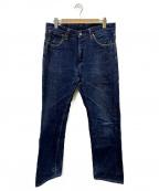 ONI DENIM(オニデニム)の古着「デニムパンツ」 ブルー