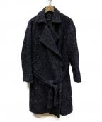pas de calais(パドカレ)の古着「ツイードコート」|グレー