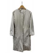 23区(ニジュウサンク)の古着「グログランパフィー 中綿コート」|アイボリー