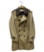 BURBERRY BLACK LABEL()の古着「ライナー付トレンチコート」|ベージュ