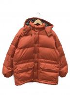 J.PRESS(ジェイプレス)の古着「ダウンジャケット」|オレンジ