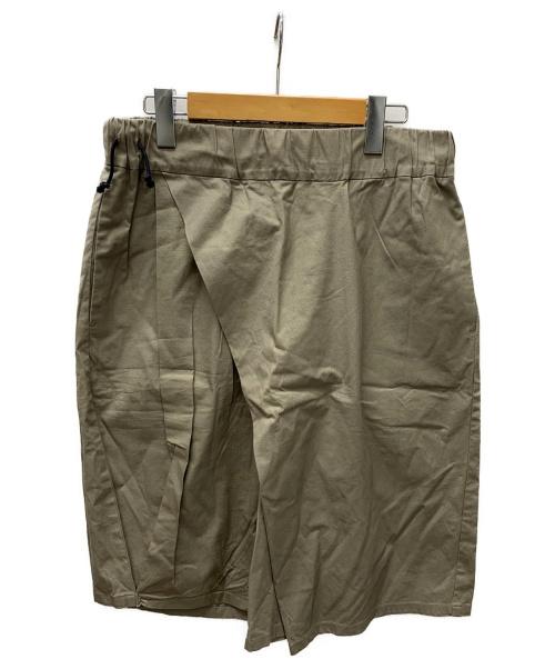 VOAAOV(ヴォアーブ)VOAAOV (ヴォアーブ) warp short pants ベージュ サイズ:SIZE 1の古着・服飾アイテム