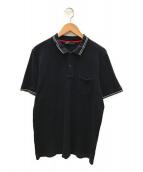 PRADA(プラダ)の古着「ポロシャツ」|ブラック