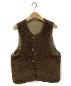 Engineered Garments()の古着「リバーシブルボアベスト」|ベージュ