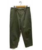 AURALEE(オーラリー)の古着「WASHED FINX CHINO TAPERED PANT」|カーキ