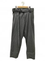 SEEALL(シーオール)の古着「SEAMLESS PANTS」 グレー