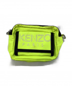 KENZO()の古着「SHOULDER BAG WITH LOGO」|イエロー