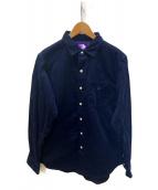 THE NORTH FACE(ザノースフェイス)の古着「Corduroy Shirt BR」|ネイビー