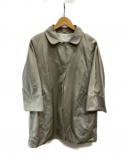 S Max Mara(エスマックスマーラ)の古着「比翼コート」 ベージュ