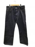 MOMOTARO JEANS(桃太郎 ジーンズ)の古着「出陣クラシックストレート」 インディゴ