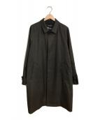 ()の古着「CARREMANドロップバルカラーコート」 ブラウン