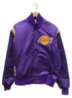 STARTER(スターター)の古着「Los Angeles Lakers」 パープル