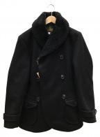 ORGUEIL(オルゲイユ)の古着「Shawl Collar Coat」|ブラック