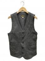 ORGUEIL(オルゲイユ)の古着「Workers Gilet」|ライトグレー