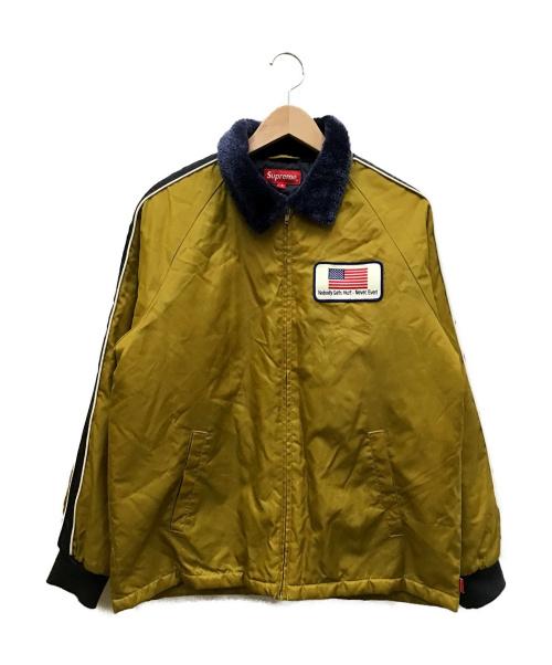 SUPREME(シュプリーム)Supreme (シュプリーム) freighter jacket イエロー サイズ:Sの古着・服飾アイテム