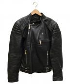 MCQ(マックキュー)の古着「ダブルライダースジャケット」 ブラック