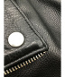 中古・古着 MCQ (マッキュー) ダブルライダースジャケット ブラック サイズ:IT44:24800円