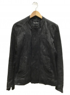 TORNADO MART(トルネードマート)の古着「シングルライダースジャケット」|ブラック