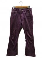 LITTLEBIG(リトルビッグ)の古着「Purple Flare Denim Pants」|パープル