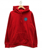 Supreme()の古着「SPITFIRE HOODED SWEATSHIRTS」|レッド
