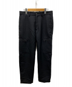 ()の古着「Wool Side Pocket Pants」|ブラック