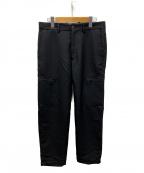 ALLEGE(アレッジ)の古着「Wool Side Pocket Pants」 ブラック