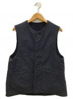 Engineered Garments()の古着「リバーシブルベスト」|ネイビー