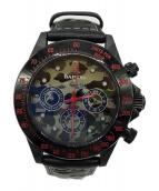 A BATHING APE(エイプ)の古着「腕時計」 ブラック
