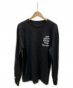 anti social social CLUB(アンチソーシャルソーシャルクラブ)の古着「プリントTシャツ」 ブラック