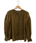 Demi-Luxe Beams(デミルクス ビームス)の古着「長袖ブラウス」 ベージュ