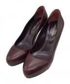 sergio rossi(セルジオロッシ)の古着「Scarpe Donna pumps」|バーガンディー