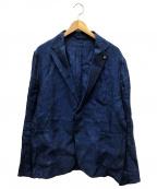 giannetto(ジャンネット)の古着「テーラードジャケット」|ブルー