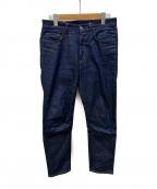 ACNE STUDIOS Bla konst(アクネ ストゥディオズ ブロ コンスト)の古着「5ポケット テーパードデニム」 ブルー
