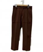 CMMN SWDN(コモン スウェーデン)の古着「ステッチパンツ」|ブラウン