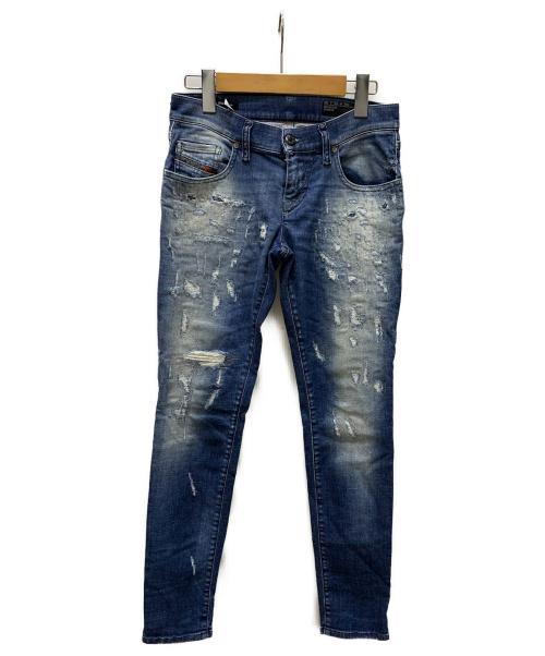 DIESEL(ディーゼル)DIESEL (ディーゼル) デニムパンツ ブルー サイズ:SIZE 63.5の古着・服飾アイテム