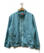 SUPREME(シュプリーム)の古着「テーピングトラックジャケット」|スカイブルー