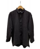 Porter Classic(ポータークラシック)の古着「コットンシャツ」|ブラック