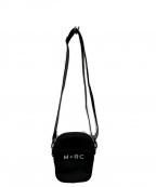 M+RC NOIR(マルシェノア)の古着「ロゴプリントショルダーバッグ」|ブラック