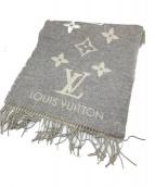 LOUIS VUITTON(ルイ ヴィトン)の古着「エシャルプ・レイキャビック」|グレー