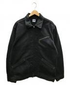 POST OALLS(ポストオーバーオールズ)の古着「LINDEN-R」|ブラック