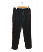 bukht(ブフト)の古着「サイドラインパンツ」|ブラック
